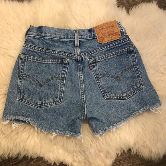 60f2957cbf Levi's Shorts   Vintage Levis 512   Poshmark